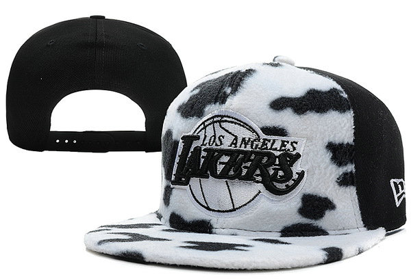 Los Angeles Lakers Snapback Hat XDF 7